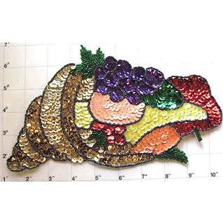 "Cornucopia Large Horn of Plenty 9.5"" x 6"""