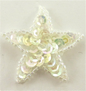 Star Iridescent Sequins 1.5""
