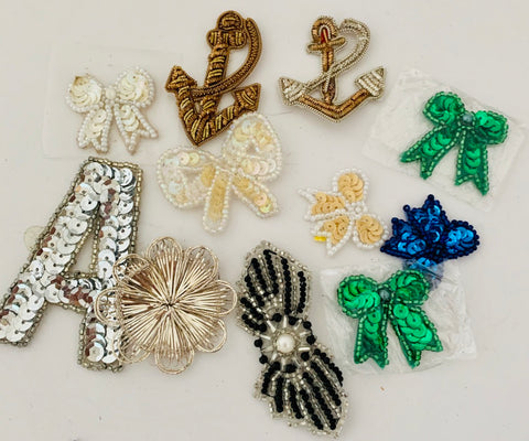 Assortment of Miscellaneous Appliques