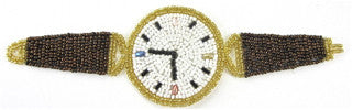 Wrist Watch Made with all Beads 2
