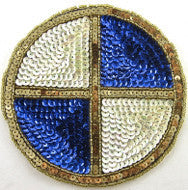 Wholesale Bulk Sequin Beaded Auto Patches, 50 for $75, Various Brands,  5-6""