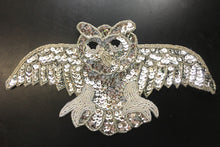 "Load image into Gallery viewer, Open Wing Owl Silver 10.5"" x 5.5"""