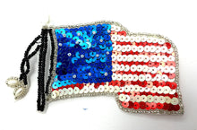 "Load image into Gallery viewer, United States Flag med 4"" X 3"""