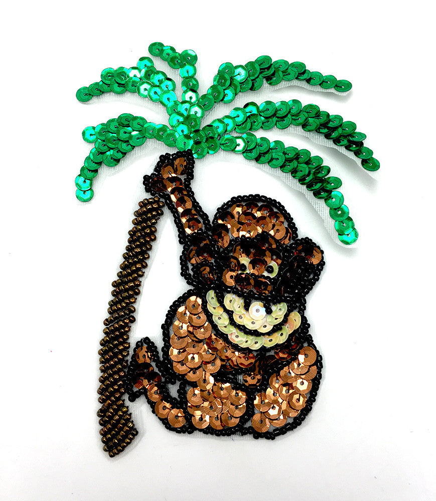 "Monkey Hanging In a Tree 5"" x 3.5"""