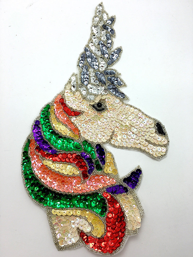 "5 PACK: Unicorn with Rainbow Colors 11"" x 6"""