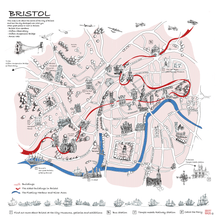 Load image into Gallery viewer, The Story of Bristol: Timeline and Map