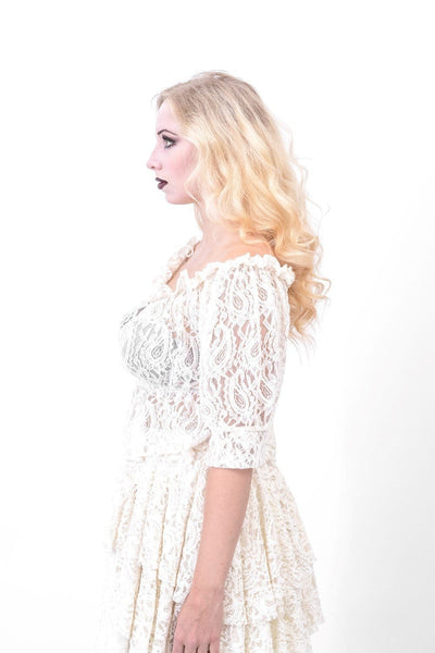 Luna Lace Gypsy Top