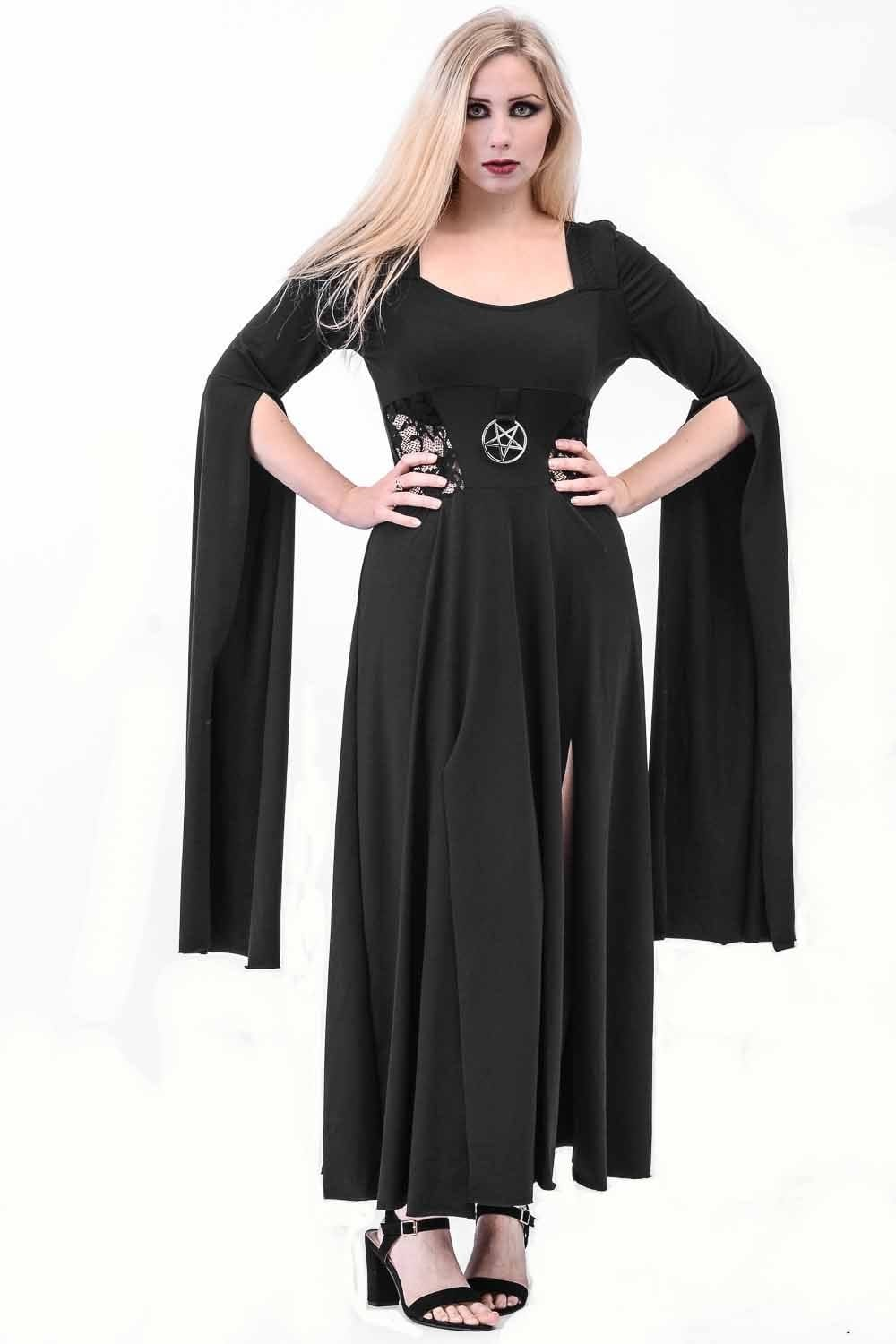Long Sleeve Pentagram Dress