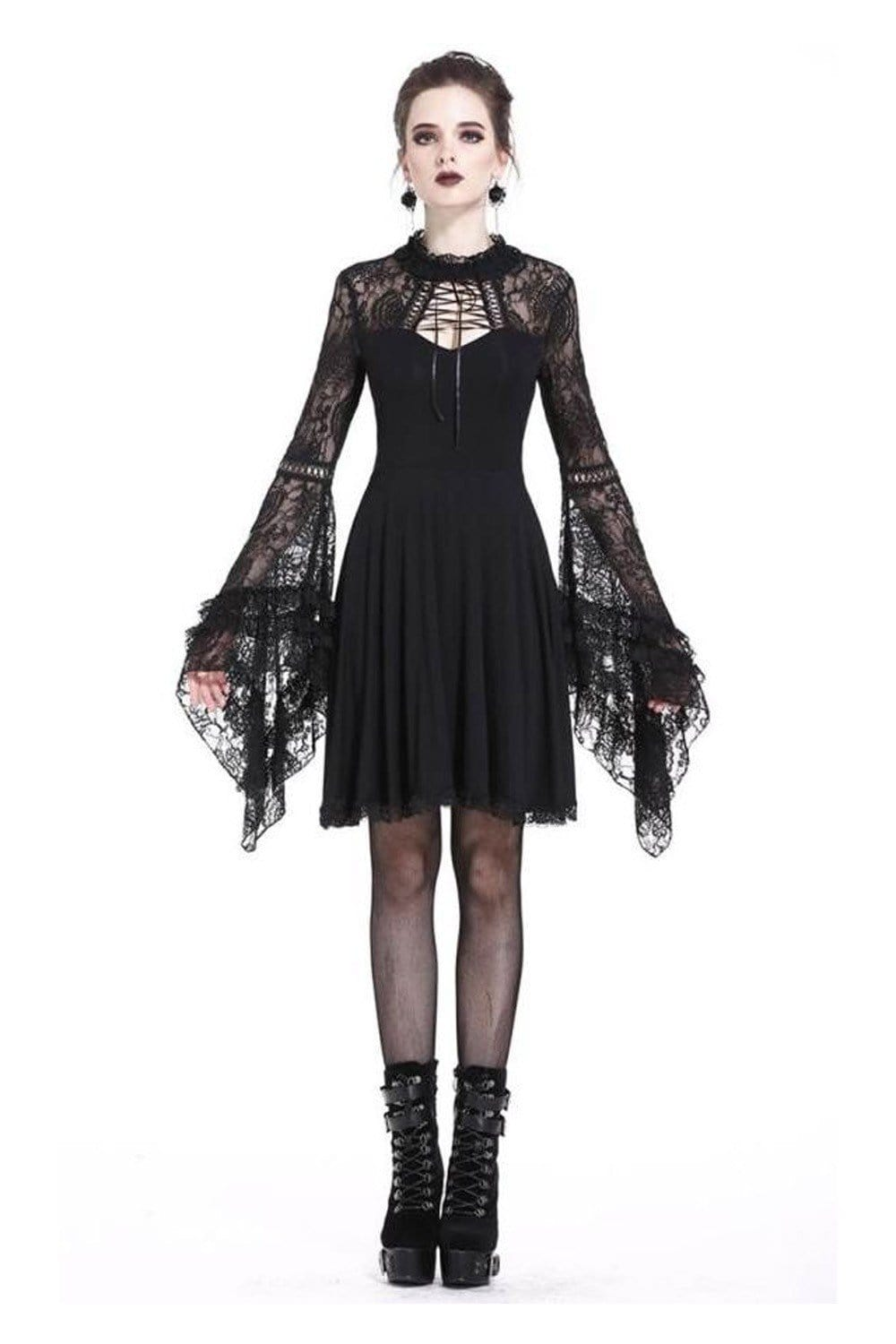 Whitby Cotton And Lace  Dress