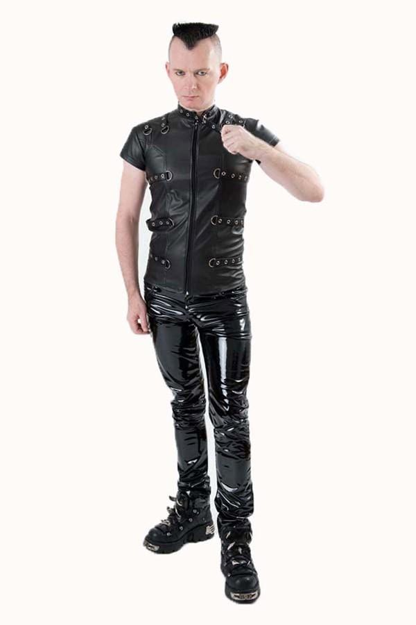 Mens Nightmetal Top-hide