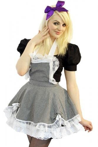 Dolly Pinafore Gingham