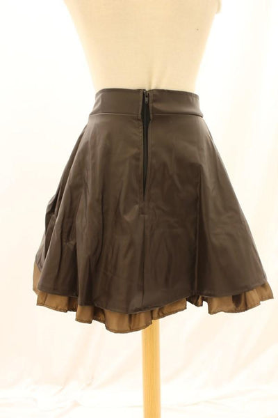 Aggy Lea Look Rouched Strap Skirt
