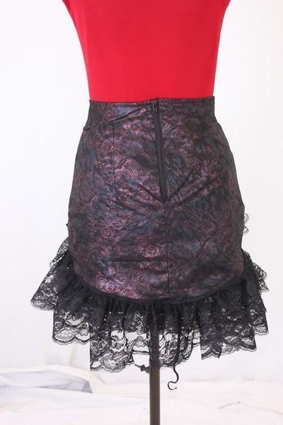 Esme Russian Rose Rouched Lace Skirt