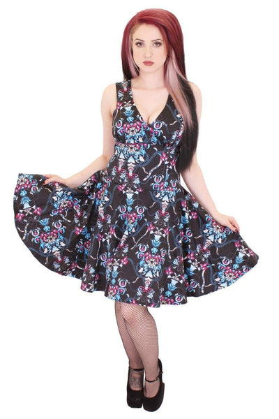 Chain and Flower Circle Dress