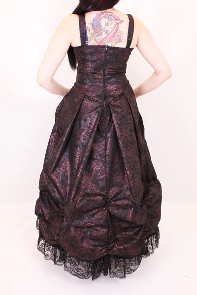 Esme Long Rouched Dress