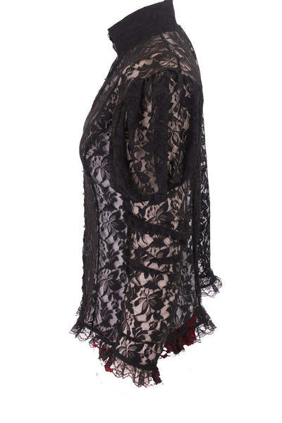 Elite Goth Hook Blouse