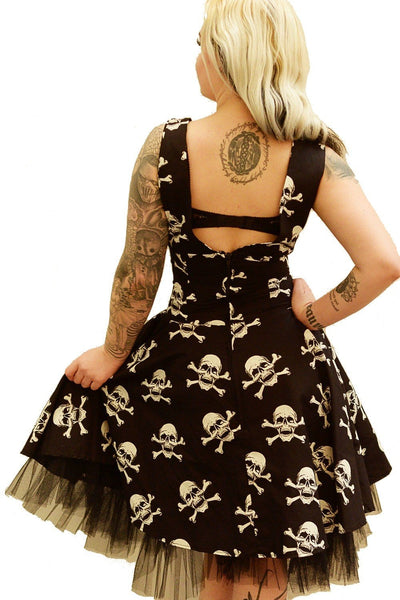 Pirate Skull Circle Dress
