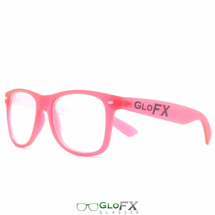 GLOW Frames PINK Ultimate Diffraction Glasses
