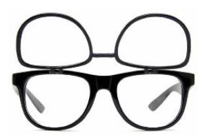 Flip 3Diffraction Glasses - Black