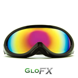 Black Diffraction Ski Goggles