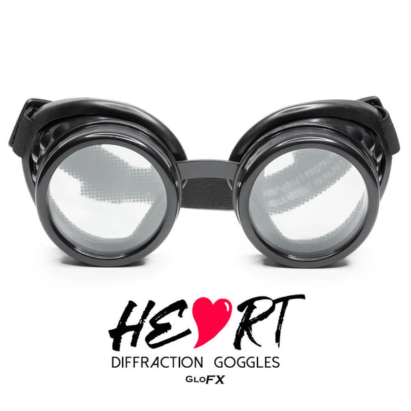Heart Effect Diffraction Goggles