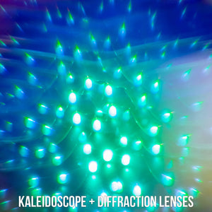 Ultimate Kaleidoscope + Diffraction Glasses
