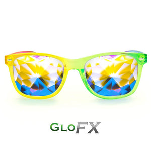 Ultimate Kaleidoscope Glasses - Transparent Multicolor