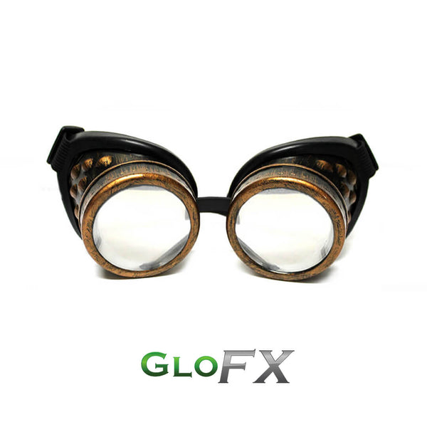 Copper Diffraction Goggles - Clear Diffraction