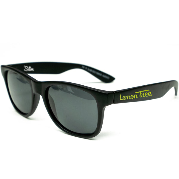 Lemon Tree x SUM Sunglasses - Matte Black