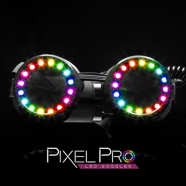 Pixel Pro LED Goggles - Diffraction