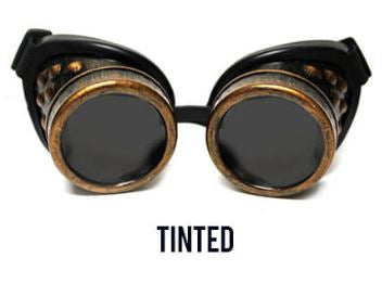 Copper Diffraction Goggles - Tinted Diffraction