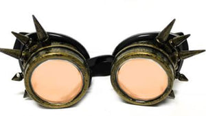 Brass Spike Diffraction Goggles - Auburn Diffraction (1788593831979)