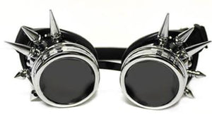 Chrome Spike Diffraction Goggles - Tinted Diffraction