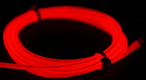 EL Wire Kit 3-mode: Red (1788601172011)