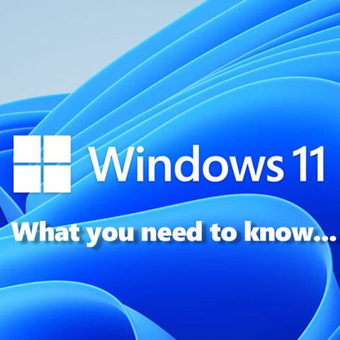Windows 11 What you need to Know