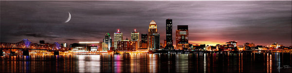 LOUISVILLE LIGHTS PANORAMIC
