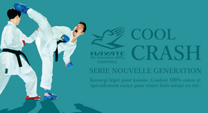 Ensemble Cool Crash Karategi kumite - 300 g/m²