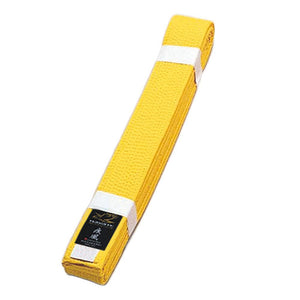 Deluxe Karate Yellow Obi Belt