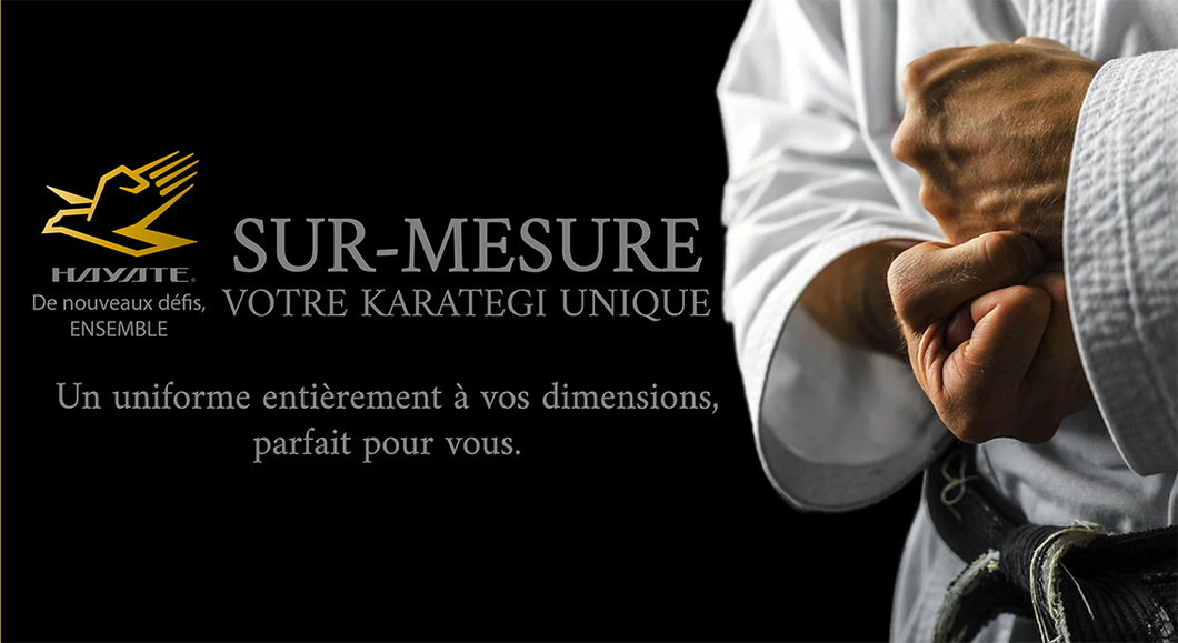 Ensemble sur-mesure karategi Hayate