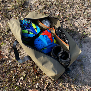 moto cross gear in underkover australia gear bag