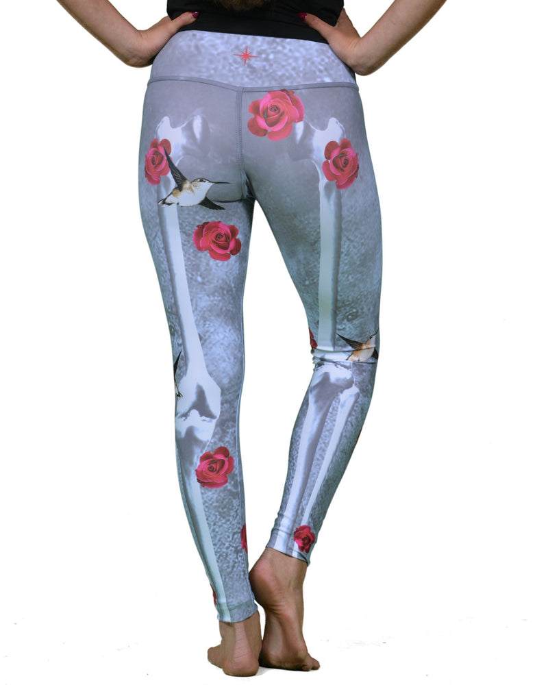 Frida Kahlo Legging  Gray - Also Available In Jade Green Final Sale!