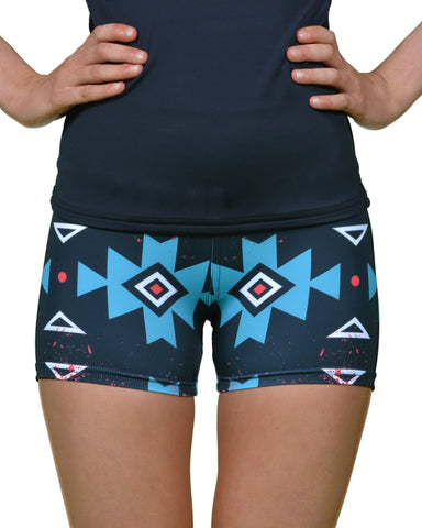 "Free As A Bird Aztec 3"" Short - New!"
