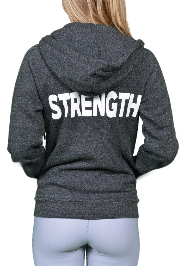 Strength Zip Hoodie - Final Sale!