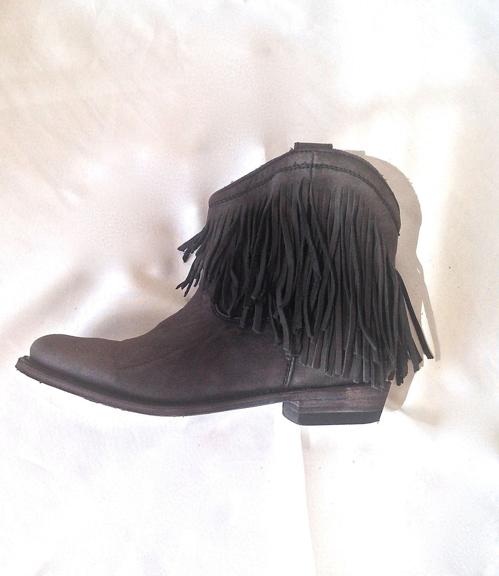 Gypset Boot In Black Forest - 100% Leather & Entirely Handmade