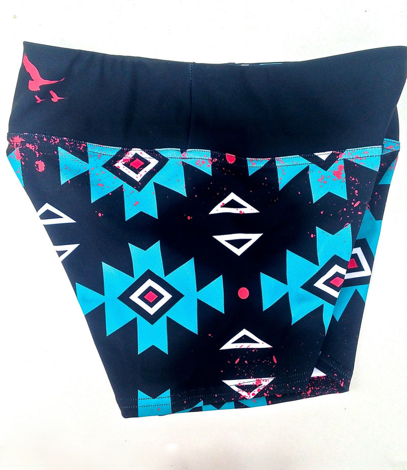 "Free As A Bird Aztec 3"" Short - Final Sale!"