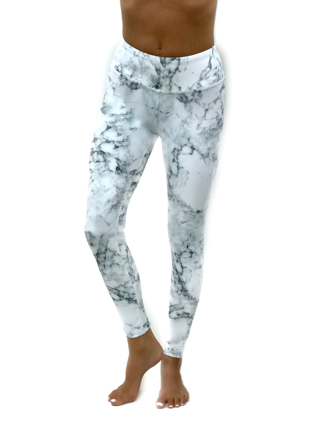 White Marble Legging