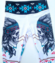 Load image into Gallery viewer, Aztec Skull Capri