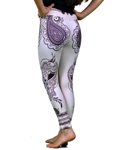Henna Peacock Legging - Just Restocked!