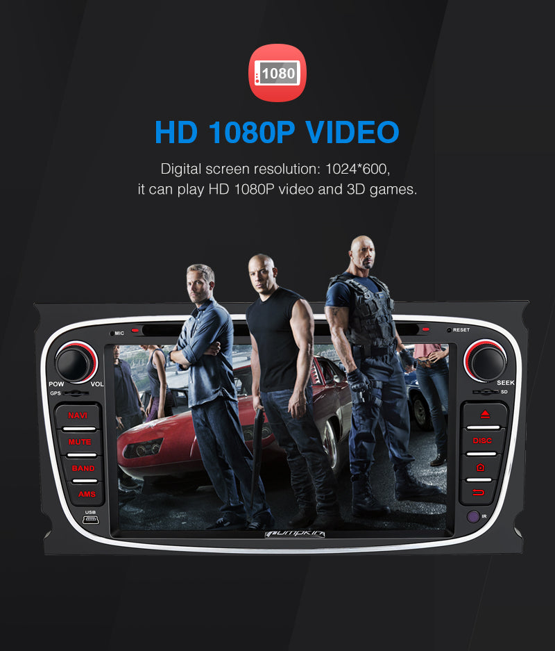 ford bluetooth head unit