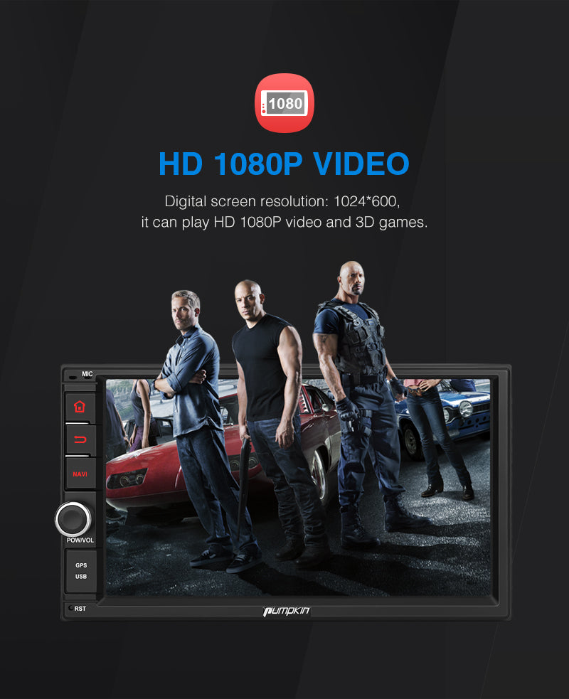 best double din touch screen car stereo
